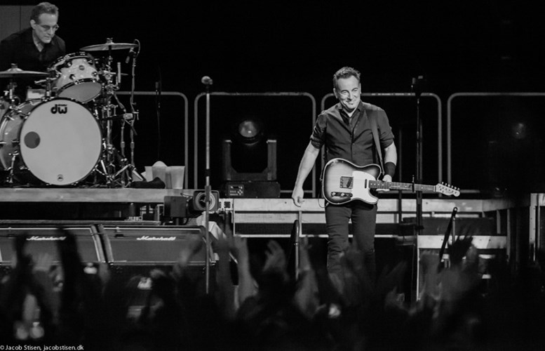 BOXEN, Bruce Springsteen, © Jacob Stisen
