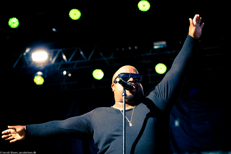 Cee Lo Green, Nibe Festival 2013, © Jacob Stisen