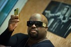 Backstage interview, CeeLo Green, Nibe Festival 2013, Gold Iphone, © Jacob Stisen