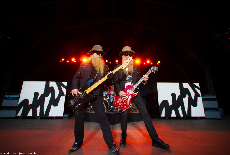 Billy Gibbons, Dusty Hill, Frank Beard, Skovdalen, ZZ Top, © Jacob Stisen